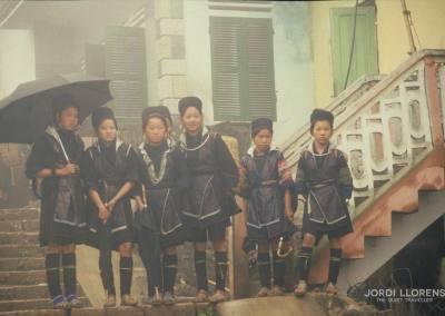 Jovenes black hmong, Sapa, Vietnam