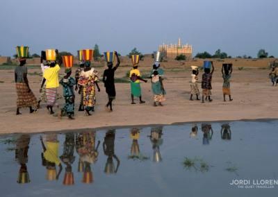 Mujeres bozo, Saba, Rio Níger, Mali