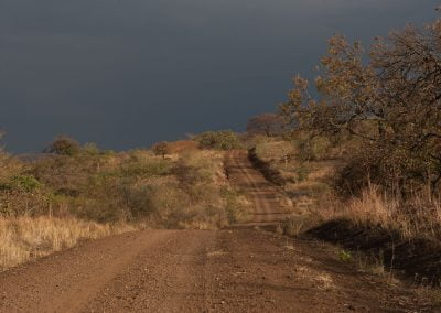 De camino hacia la etnia surma, Valle del rio Omo, Etiopía