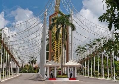 Entrada principal del Palacio del Sultán, Bandar Seri Begawan