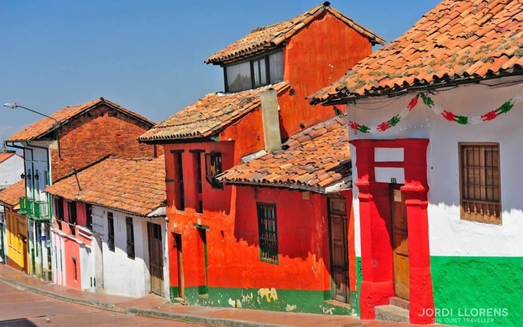 Colombia, contraste de colores