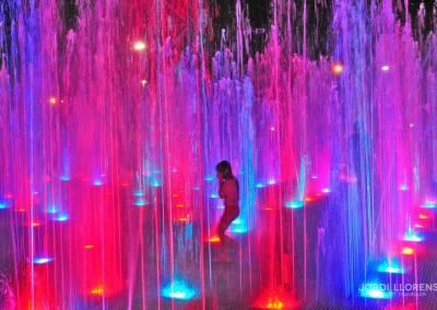 Fuentes de luz, Medellín