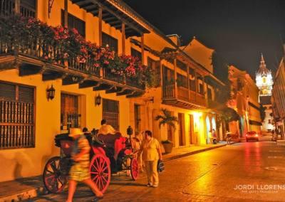 Cartagena de Indias por la noche