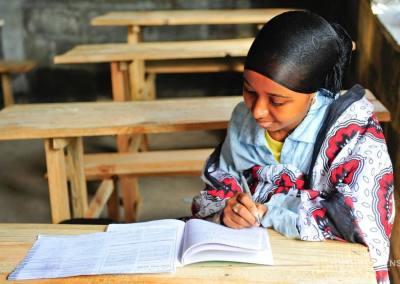 En la escuela, Mutsamudu, Anjouan