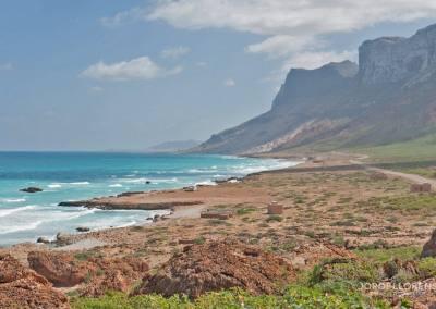 La costa norte de Socotra