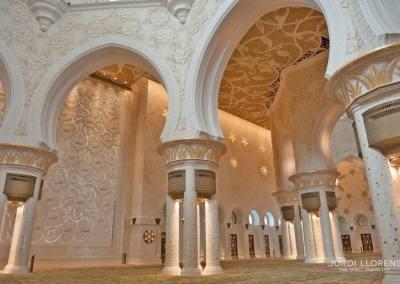 Interior mezquita Sheikh Zayed, Abu Dhabi
