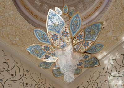 Lámpara de la mezquita Sheikh Zayed, Abu Dhabi