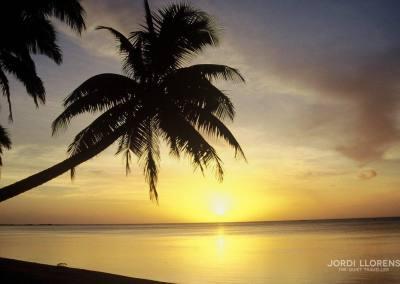 Atardecer en Aitutaki