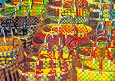 Cestos, Mercado de Kalaw
