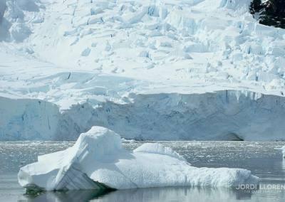 Glaciar en la bahía Neko