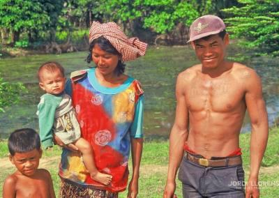 Familia camboyana