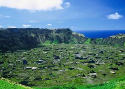 Volcan Rano Kau, Rapa Nui
