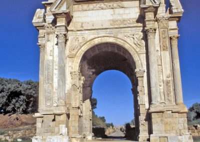 Arco de Septimio Severo, Leptis Magna