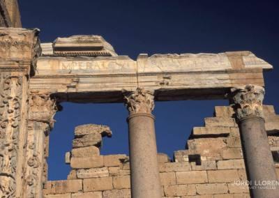 Detalle, Foro Severiano, Leptis Magna