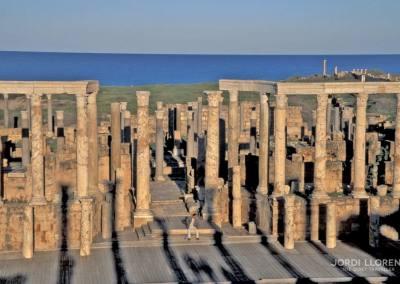 Teatro, Leptis Magna