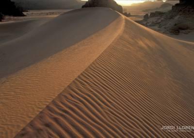 Atardecer en el desierto de Akakus