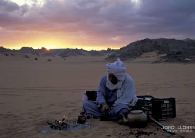 Empieza hacer frio en el desierto de Akakus