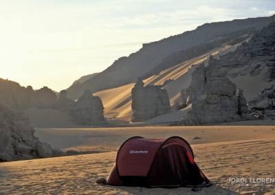 Despertar en el desierto de Akakus
