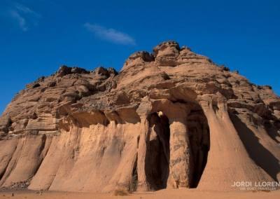 Columnas de Tin Ghalega, Wadi Tashwinat, desierto Akakus