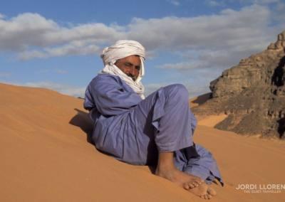Nuestro guía tuareg del desierto