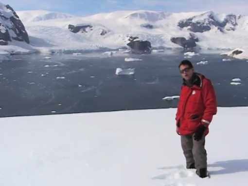 My first steps in Antarctica