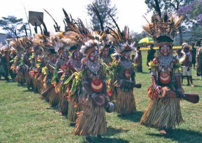 Papua New Guinea, the Sing Sing Festival in Goroka