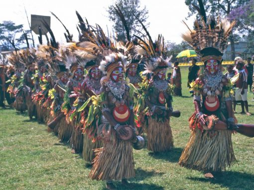 Papua New Guinea, the Sing Sing Festival 1