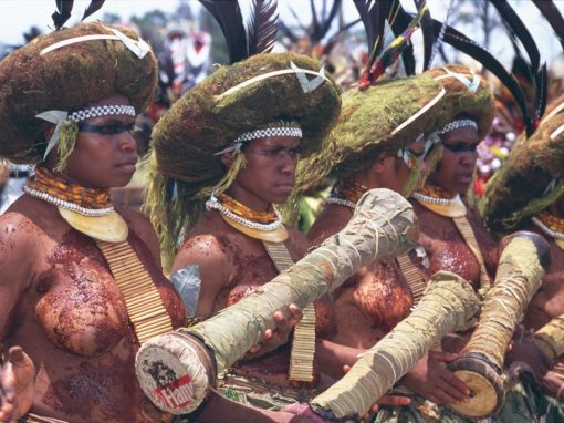 Papua New Guinea, the Sing Sing Festival 2