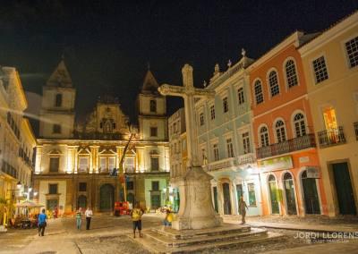 Plaza del Cruceiro, Pelourinho, Salvador de Bahía