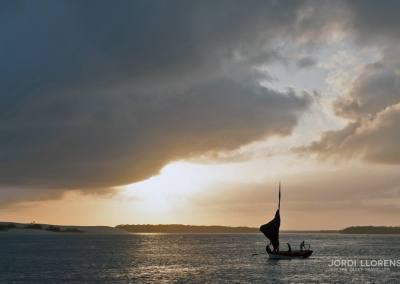 Regreso de la pesca, Jericoacoara, Ceara