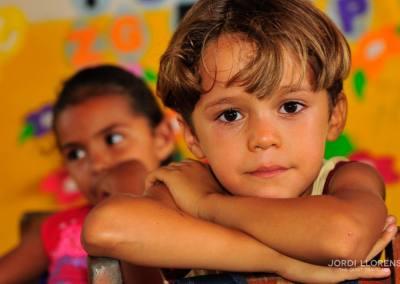 Niño en la escuela, Paulino Neves, Maranhao