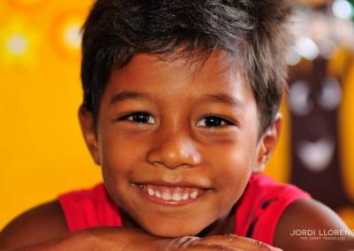 Niño en la escuela, Paulino Neves, Maranhao, Brasil