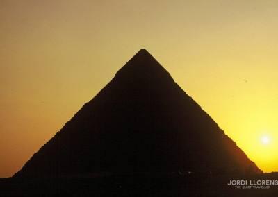 Pirámide de Guiza, El Cairo