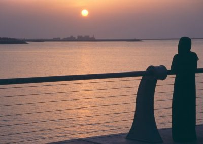 Atardecer, Abu Dhabi