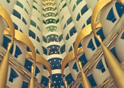 Interior del hotel Burj Al Arab, Dubai
