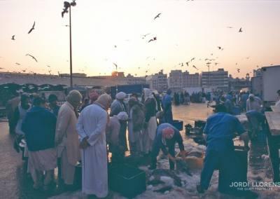 Mercado del pescado, Deira, Dubai