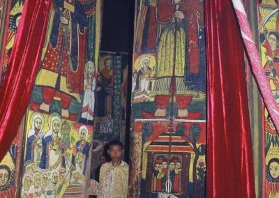Monasterio Debra Maryam, Lago Tana