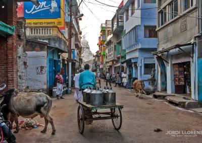 Una calle de Puri