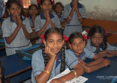 Alumnas de una escuela, Puri