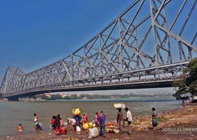 Puente Howrah, Calcuta