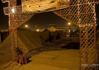 Entrada a mi campamento perteneciente al gurú Shri Govind Ji Maharaj