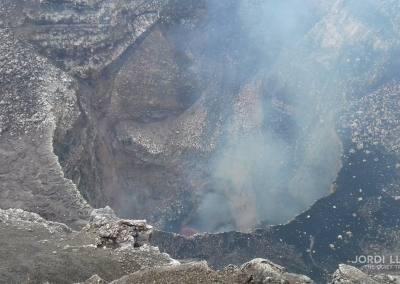 Cráter principal del volcán Masaya