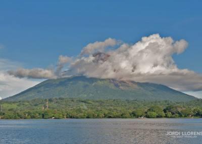 Volcán Concepción, Isla Ometepe, Lago Cocibolca