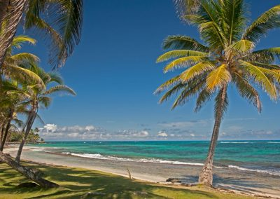 Playa en isla Grande (Big Corn), Islas del Maíz (Corn islands)