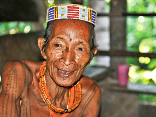 The mentawai, the flower men