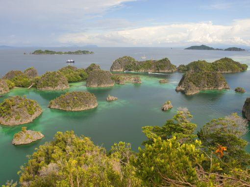 Island of Piayemo, an earthly paradise in Papua