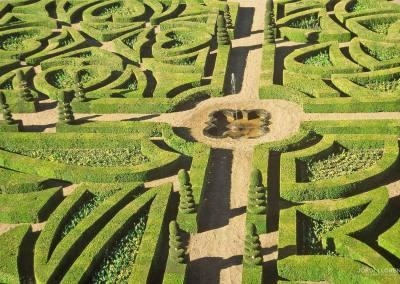 Jardines de Villandry, Loira
